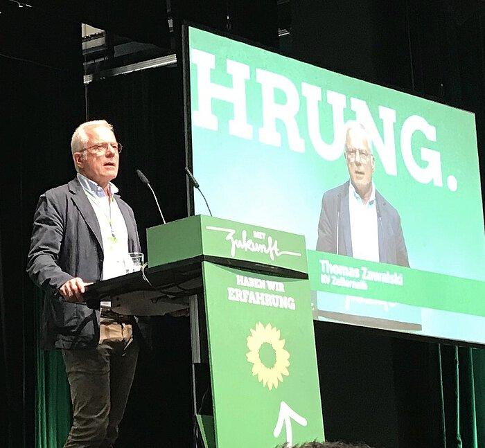 Thomas Zawalski zum Länderrat der Grünen Bden-Württemberg gewählt.