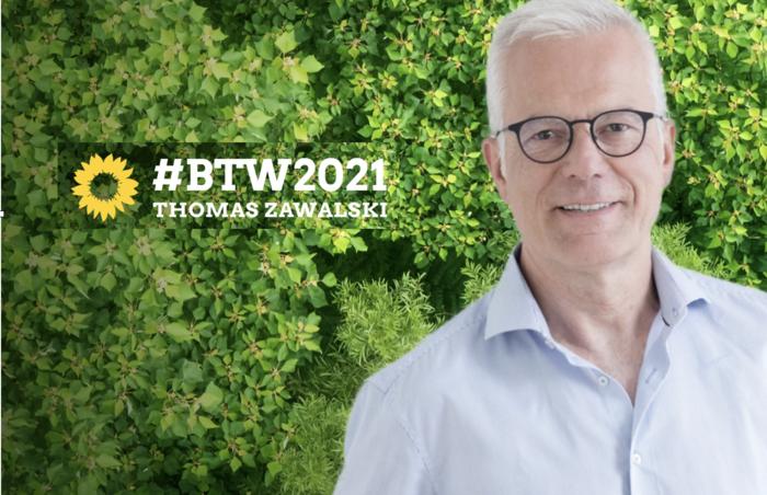 Thomas Zawalski bewirbt sich als Kandidate für den Wahlkreis Offenburg.