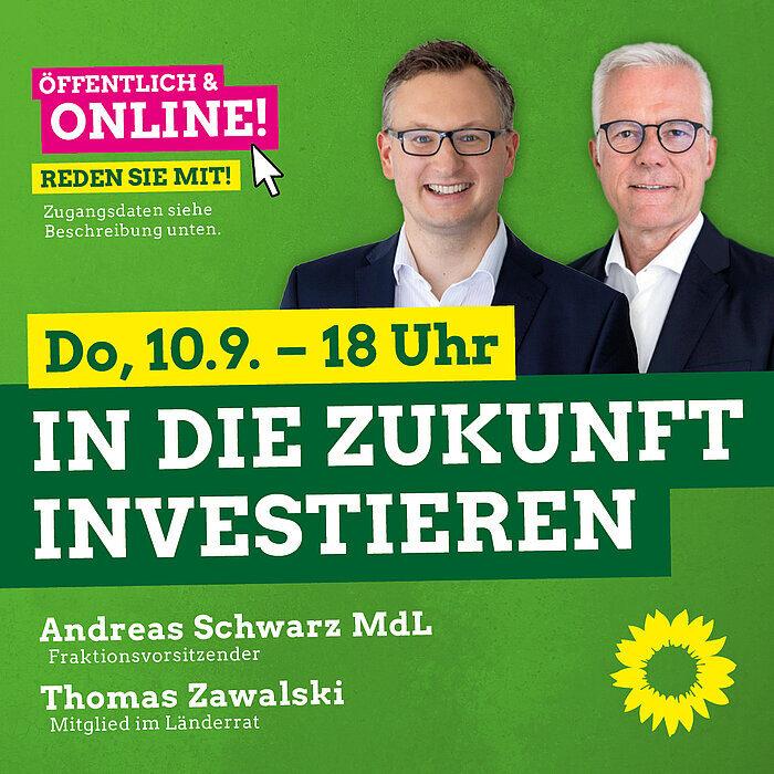 Thomas Zawalski Grüner Wirtschaftsfachmann in Baden Württemberg.