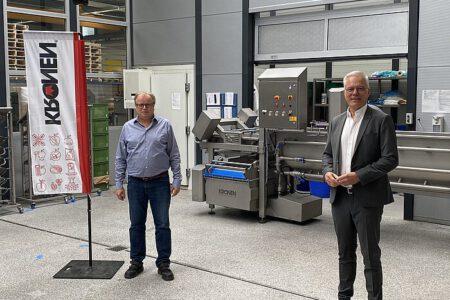 Grüner Politiker und Wirtschaftsexperte Thomas Zawalski zu Besuch im Ortenaukreis.