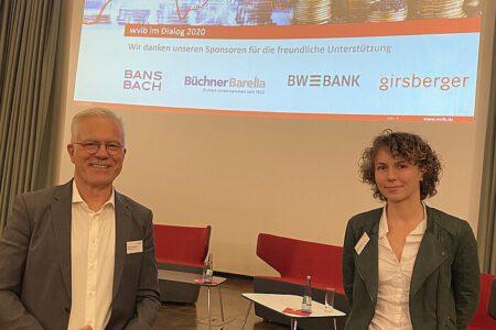 Bundestagskandidat Thomas Zawalski mit Freiburger Stadträtin Sophia Schwer.