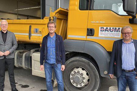 Grüner Politiker Thomas Zawalski auf Wahlkampftour in der Ortenau