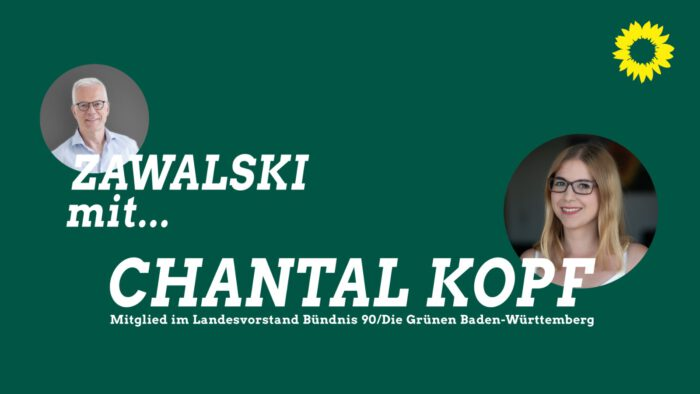 Thomas Zawalski und Chantal Kopf.