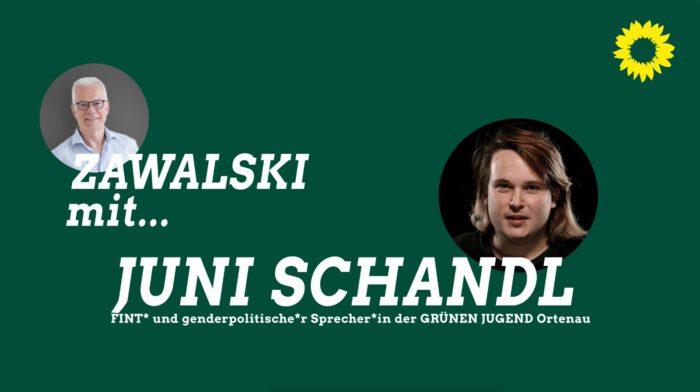 Thomas Zawalski und Juni Schandl.