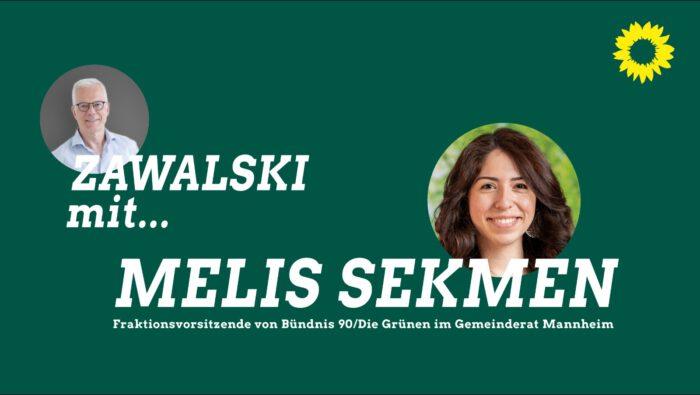 Thomas Zawalski und Melis Sekmen.