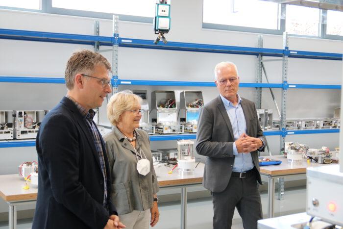 Ingrid Denni-Glaser im Gespräch mit Thomas Zawalski und Bernd Mettenleiter.