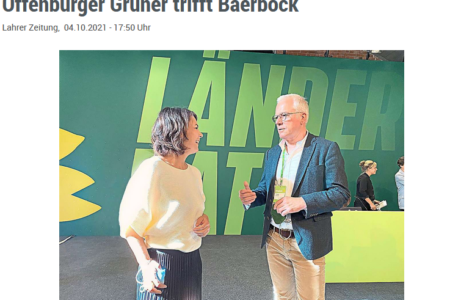 Thomas Zawalski im Gespräch mit Annalena Baerbock